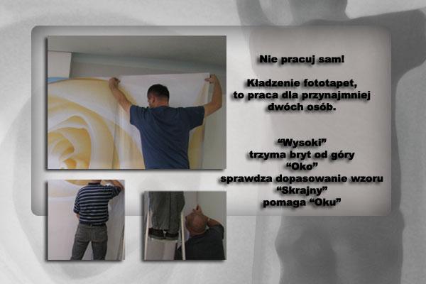 tapetowanie-klejenie-na-ścianie