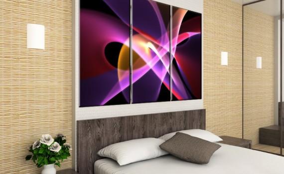 tryptyk-abstrakcja-obraz